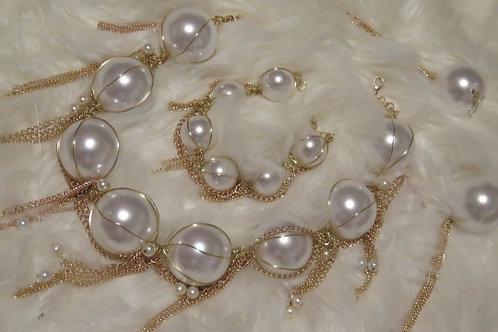 """""""Diva""""  Pearl set"""