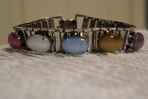 Silver Colorful Bracelet