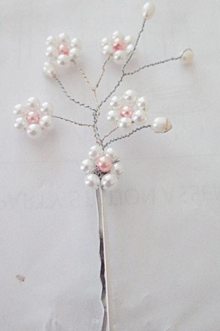 Pearl bridal Hair pin