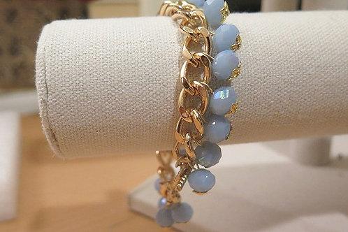 """Reina"" Blue Bracelet"