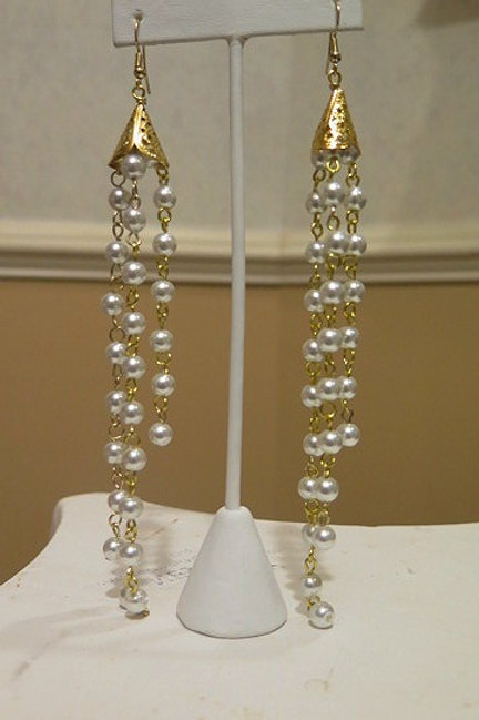 Pearl saskia Earrings