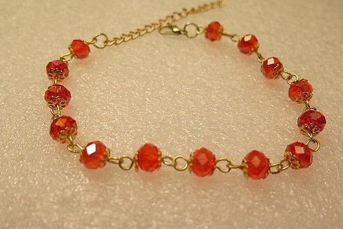 Orange Leona Bracelet