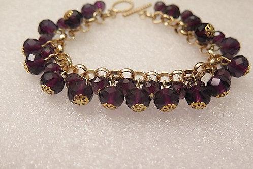 Reina Amethyst Bracelet