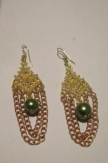 """""""zelda"""" Chandelier Earring"""