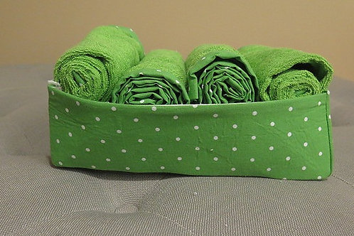 Green Storage basket