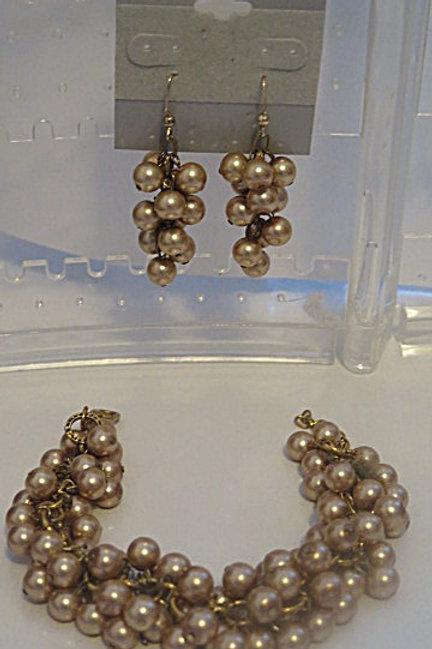'Reina' Earring and bracelet Set