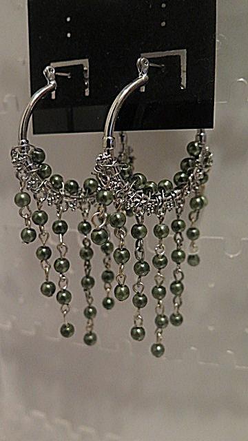 Green chandelier mysite green chandelier earrings that measure 3 mozeypictures Gallery