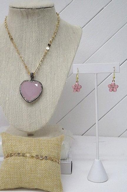 Pink Gold Set