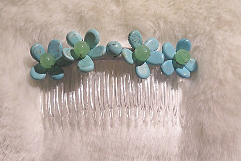 Turquoise  Hair piece