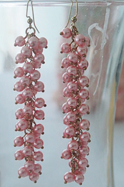 "Long ""Reina"" Pearl Earrings"
