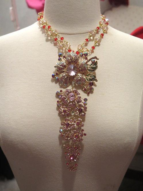 'Empress' Pink Necklace