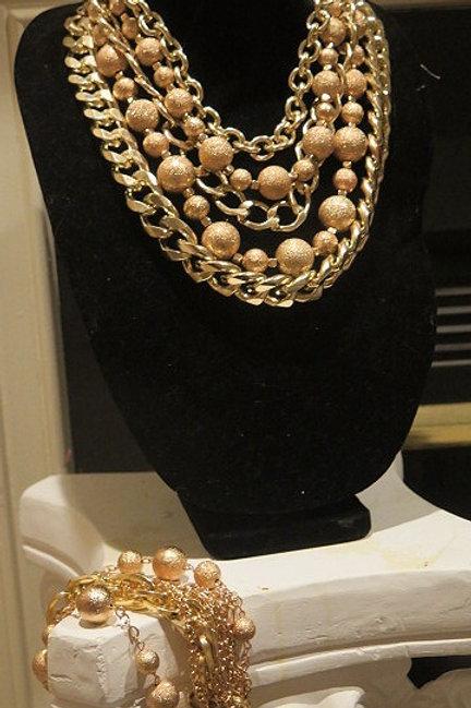 Gold Multilayer necklace
