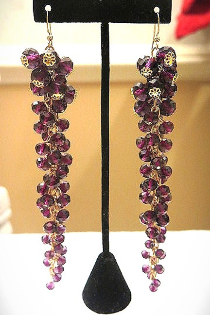 Amethyst Reina  Earrings