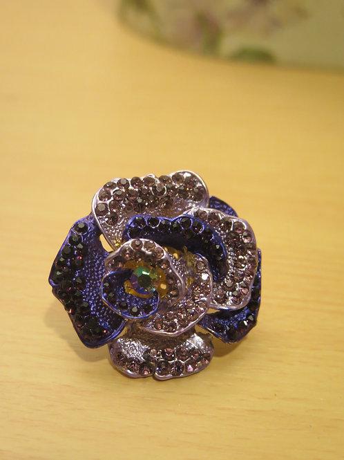 'princess' Purple Cocktail Ring