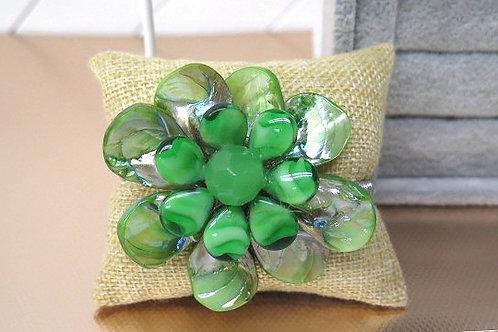 """""""Diore"""" Green Bracelet"""