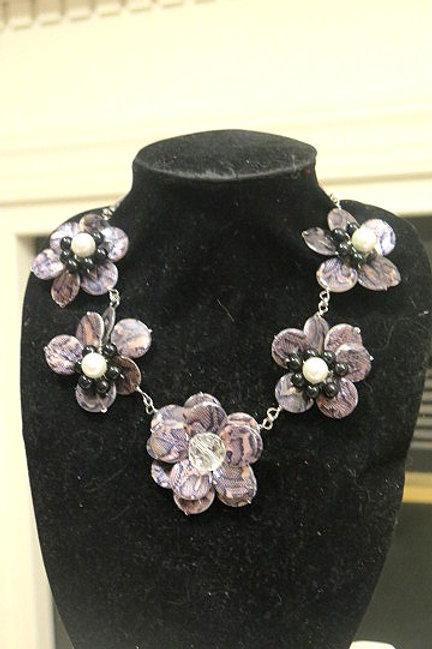 """""""Florette"""" Animal Print Necklace"""