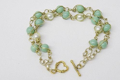 Mint White Bracelet