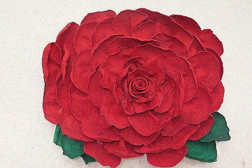 3D Red Rose Wall Arts