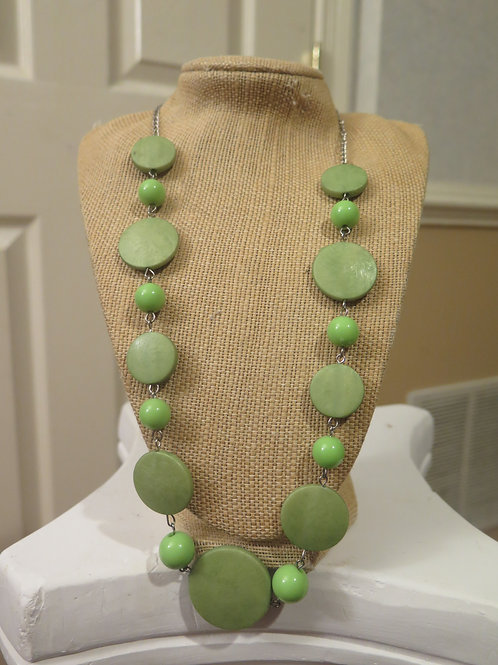 Lemon Green   Necklace