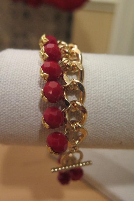 Reina Rubby Red Bracelet