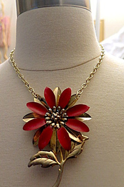 Red Gold Necklace