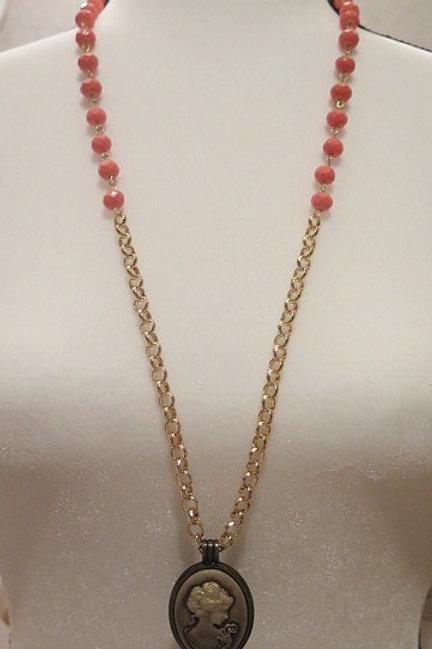 Leona Orange Necklace