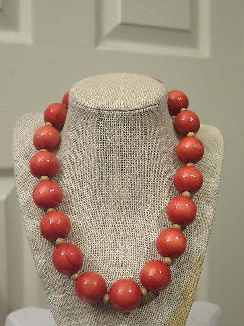 Orange Tone Necklace