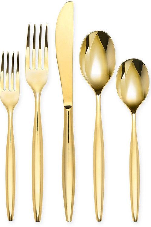 Gold Flatware Cutlery