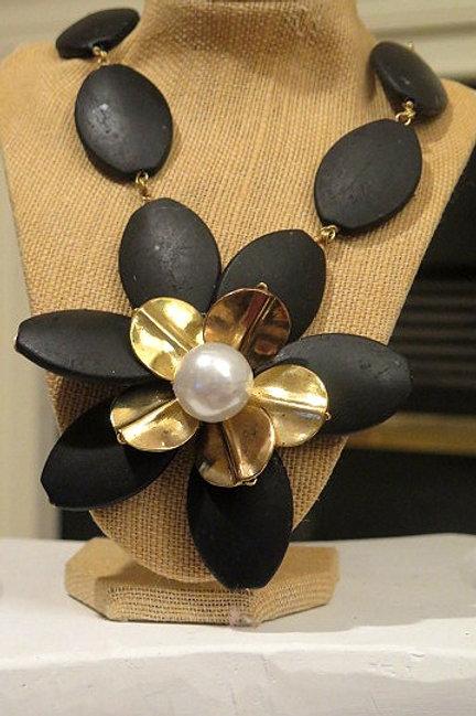 """""""Florette' Black Necklace"""