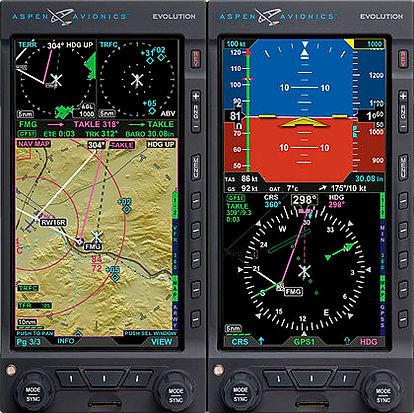 R44 IFR Trainer Aspen Panel