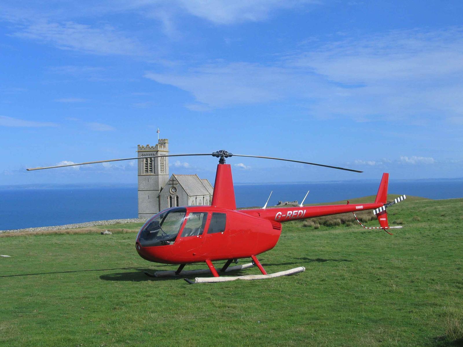 R44 Clipper- Lundy Island