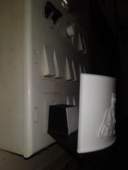 Lithophane Socket Lamp