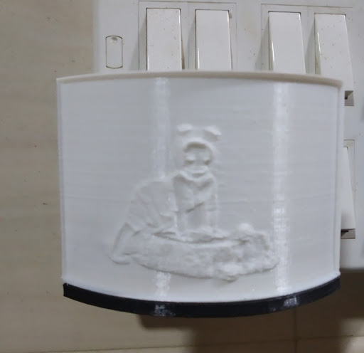 Lithopahne Socket Lamp