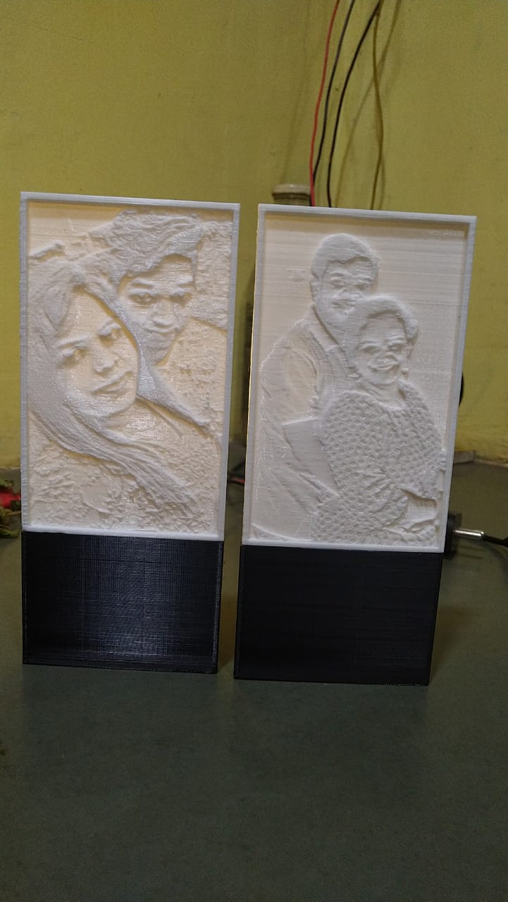 Lithophane Photo Frame
