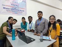 Internship Group with mentor