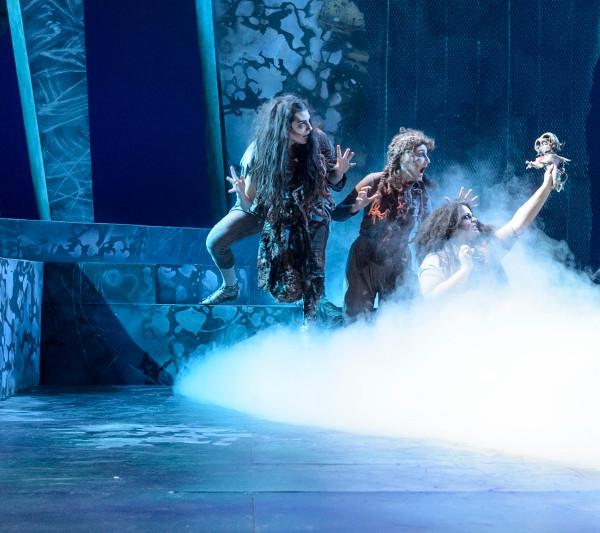 Weird Sisters, Macbeth, featuring Rae Buchanan