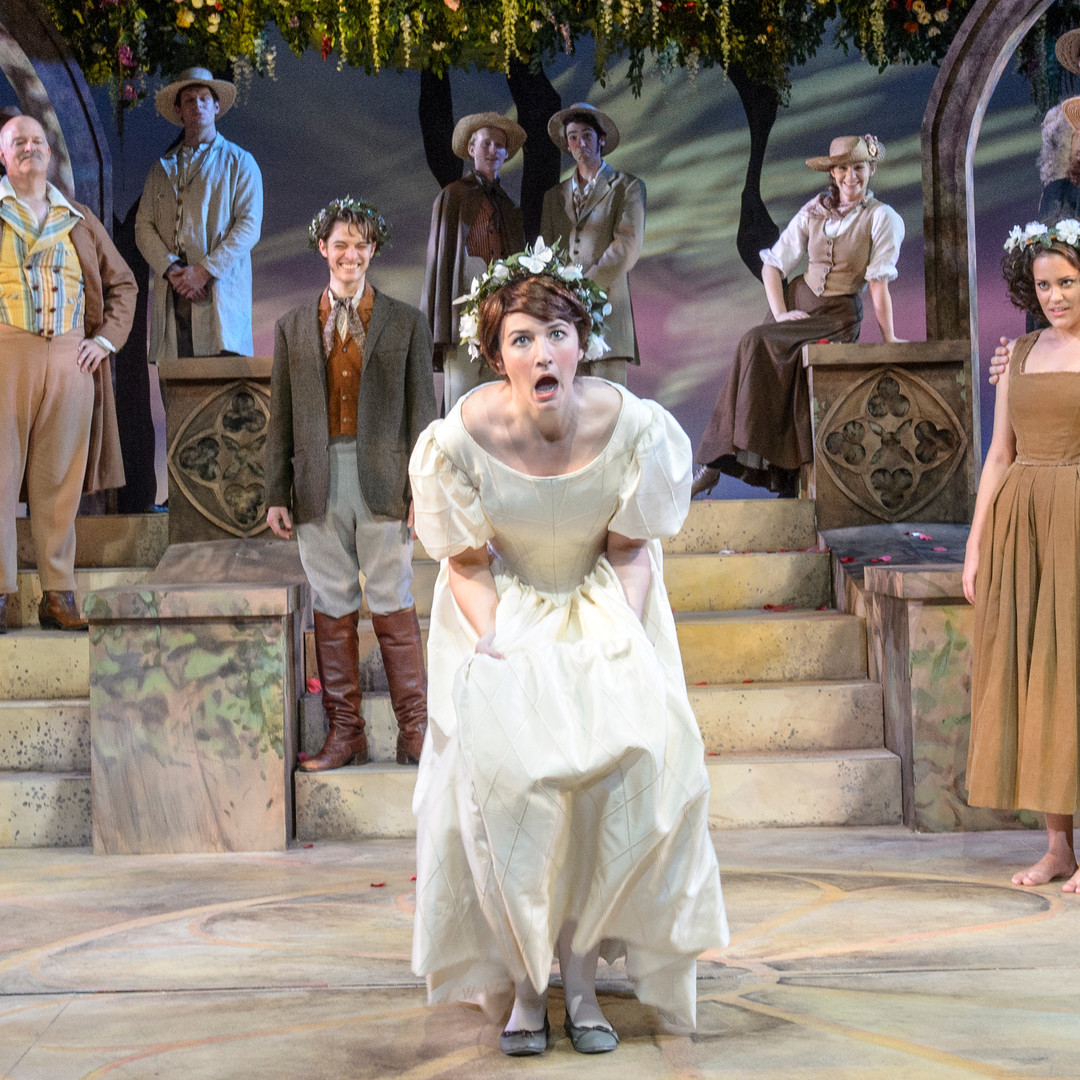 Rae Buchanan as Rosalind in As You Like It