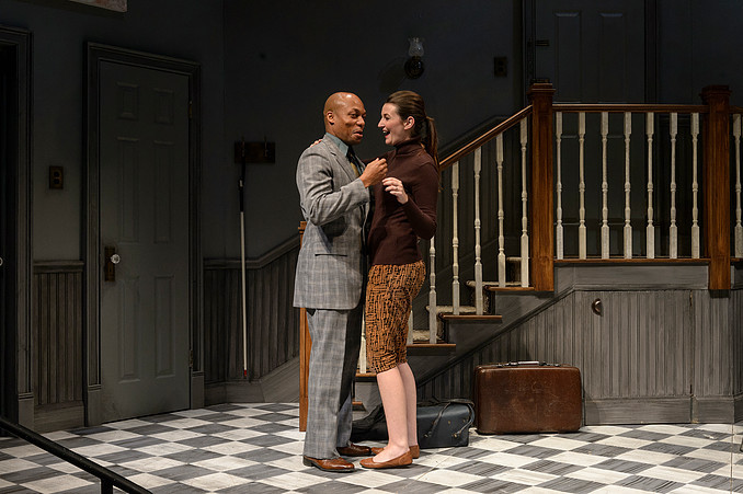 Rae Buchanan in Wait Until Dark at Purdue University