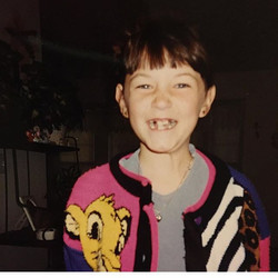 Is it the 90's Lion King sweater, or the crazy teeth that made me so cool_ #TBT