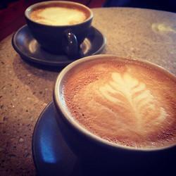 Morning coffee for TWO! #Reunited #CoffeeDate _arichfellow