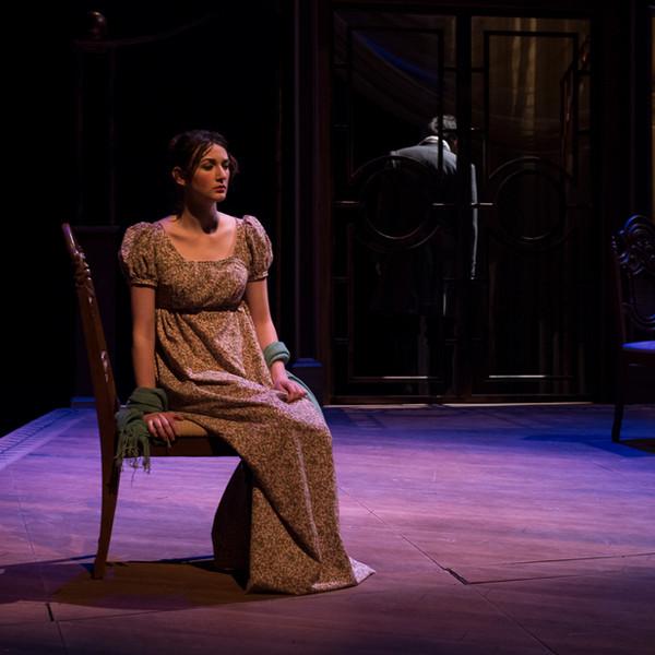 Elizabeth Bennet, played by Rae Buchanan