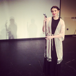 Channeled my inner Florence for a lip sync assignment. Oh, grad school...jpg