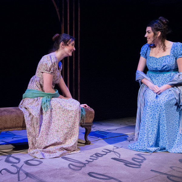 Rae Buchanan and Emma Quick in Pride and Prejudice