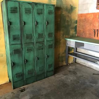 Aged Lockers