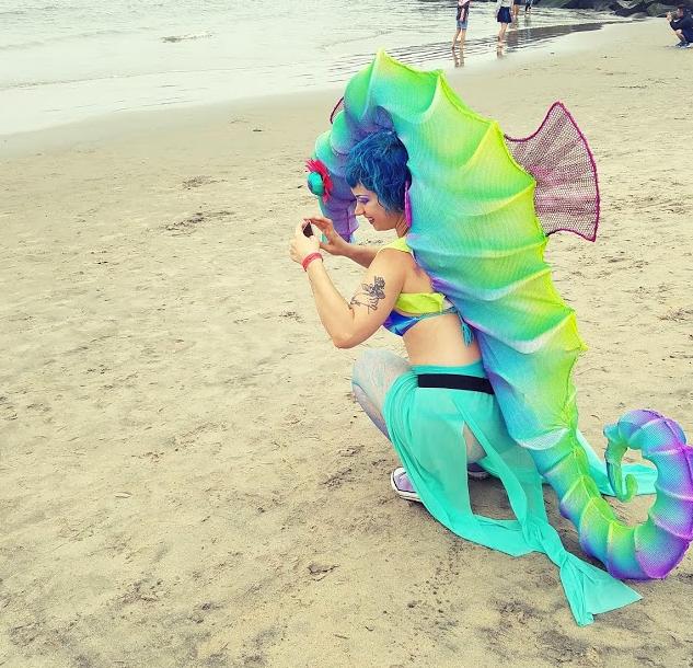 Sea Horse Costume