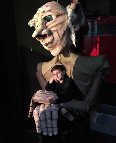 BFG Walk-around Puppet