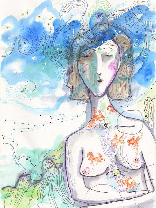 La Femme Aux Poissons