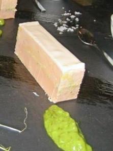 mille-feuille de foie gras de canard aux