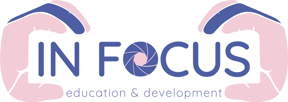 Logo design for In Focus