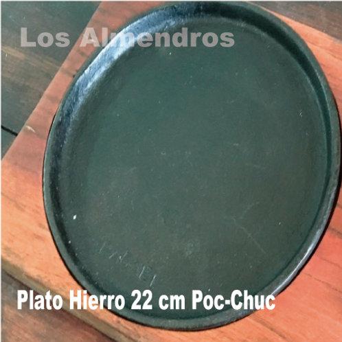 Plato De Hierro Los Almendros 22cm 1 Pieza